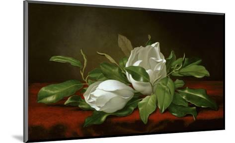 Magnolia-Martin Johnson Heade-Mounted Giclee Print