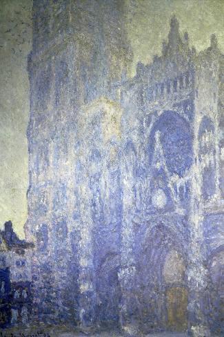 Cathedrale de Rouen, Effet Du Matin-Claude Monet-Stretched Canvas Print
