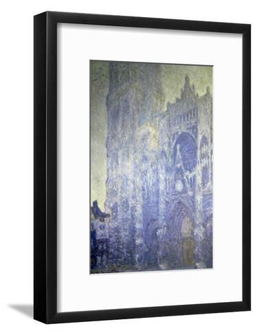 Cathedrale de Rouen, Effet Du Matin-Claude Monet-Framed Art Print