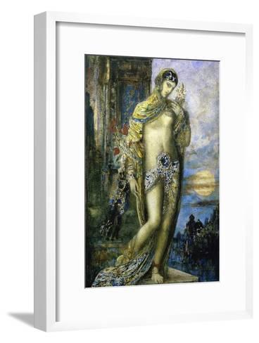 Le Cantique Des Cantiques-Gustave Moreau-Framed Art Print
