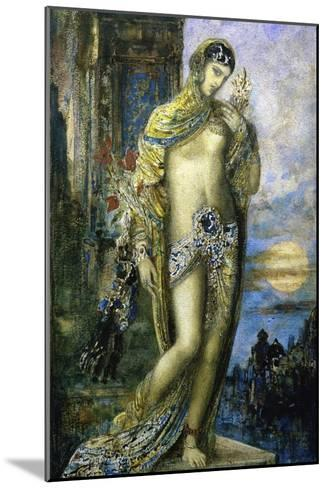 Le Cantique Des Cantiques-Gustave Moreau-Mounted Giclee Print
