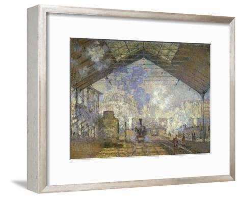 St. Lazare Station-Claude Monet-Framed Art Print
