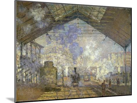 St. Lazare Station-Claude Monet-Mounted Giclee Print