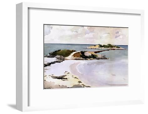 Gallows Island-Winslow Homer-Framed Art Print