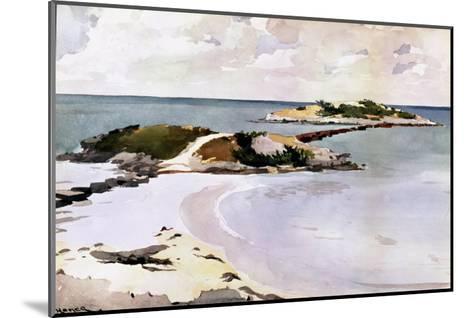 Gallows Island-Winslow Homer-Mounted Giclee Print