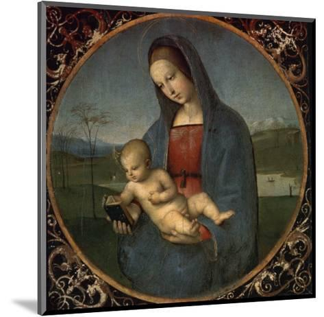 Madonna and Child (Conestabile Madonna)-Raphael-Mounted Giclee Print