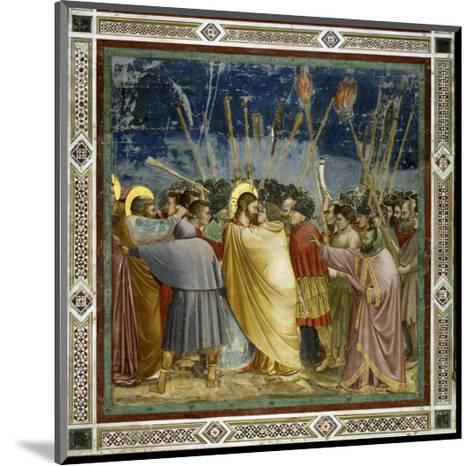 The Betrayal of Christ-Giotto di Bondone-Mounted Giclee Print