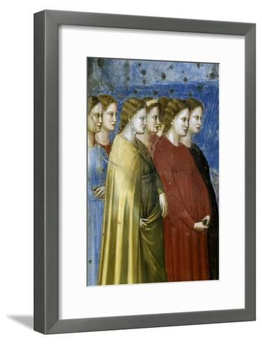 The Virgin's Wedding Procession, Detail-Giotto di Bondone-Framed Art Print