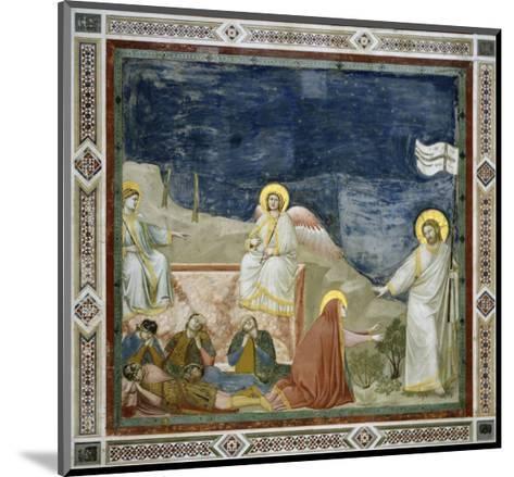 Noli Me Tangere-Giotto di Bondone-Mounted Giclee Print