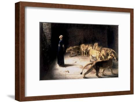 Daniel's Answer to the King-Briton Rivi?re-Framed Art Print