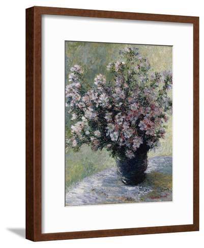 Vase of Flowers-Claude Monet-Framed Art Print