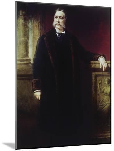 Chester a Arthur, (1830-1886)-Daniel Huntington-Mounted Giclee Print