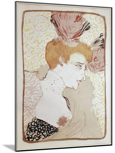 Mademoiselle Marcelle Lender-Henri de Toulouse-Lautrec-Mounted Giclee Print