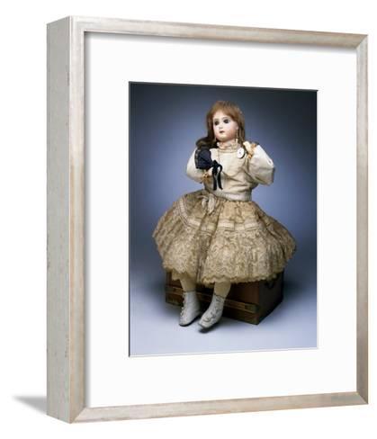 Bebe Jumeau Bebe L'Intrepide by Camp and Doll--Framed Art Print