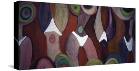 Ultra Pink Torso-Gina Bernardini-Stretched Canvas Print