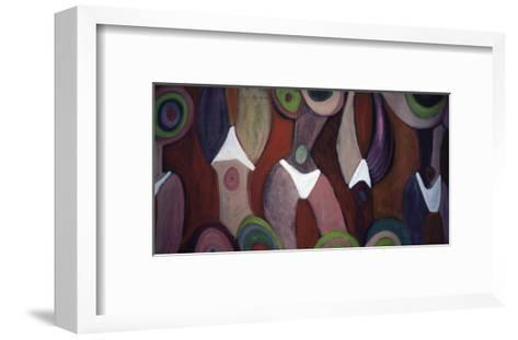 Ultra Pink Torso-Gina Bernardini-Framed Art Print