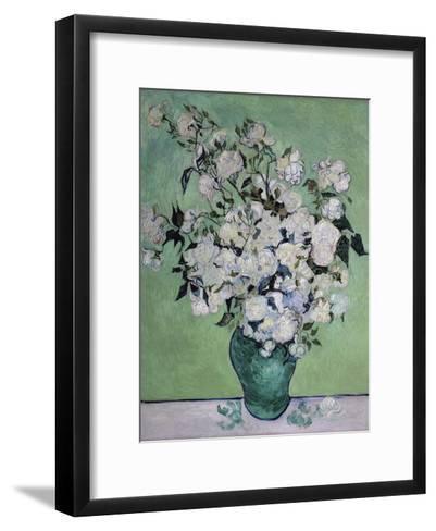 A Vase of Roses, c.1890-Vincent van Gogh-Framed Art Print