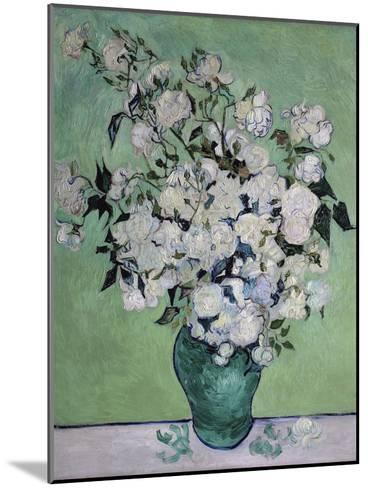 A Vase of Roses, c.1890-Vincent van Gogh-Mounted Giclee Print