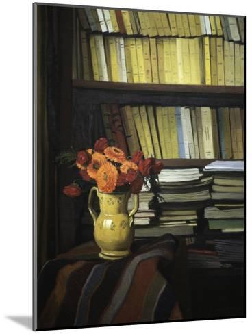 The Library-F?lix Vallotton-Mounted Giclee Print