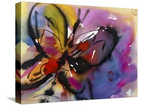 Butterfly-Diana Ong-Stretched Canvas Print