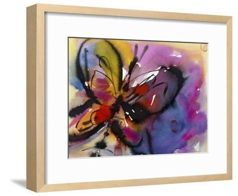 Butterfly-Diana Ong-Framed Art Print