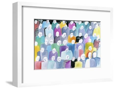 Definitive-Diana Ong-Framed Art Print