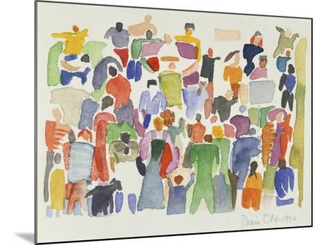 Crowd No.16-Diana Ong-Mounted Giclee Print