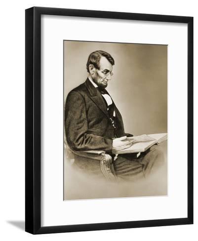 Abraham Lincoln--Framed Art Print