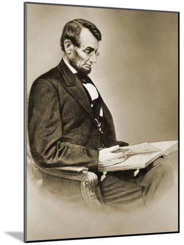 Abraham Lincoln--Mounted Giclee Print