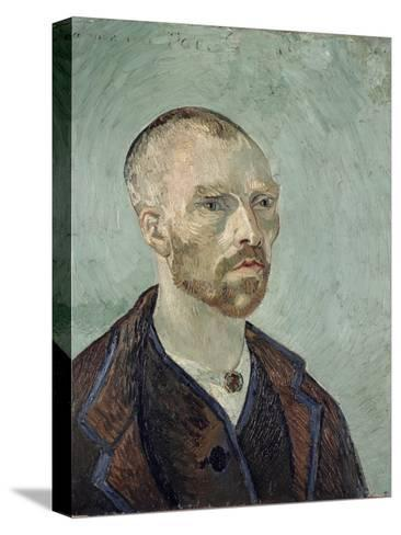Self-Portrait Dedicated to Paul Gauguin, c.1888-Vincent van Gogh-Stretched Canvas Print
