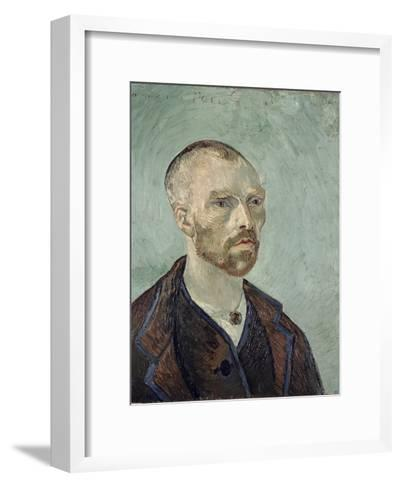 Self-Portrait Dedicated to Paul Gauguin, c.1888-Vincent van Gogh-Framed Art Print