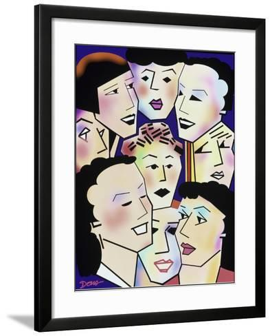 Womans' Group-Diana Ong-Framed Art Print