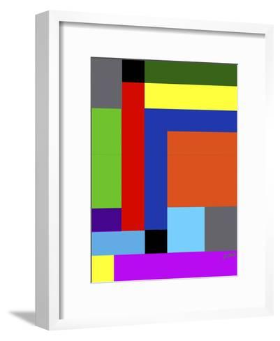 Blk-Square-Diana Ong-Framed Art Print
