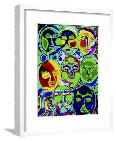 Moonshine-Diana Ong-Framed Art Print