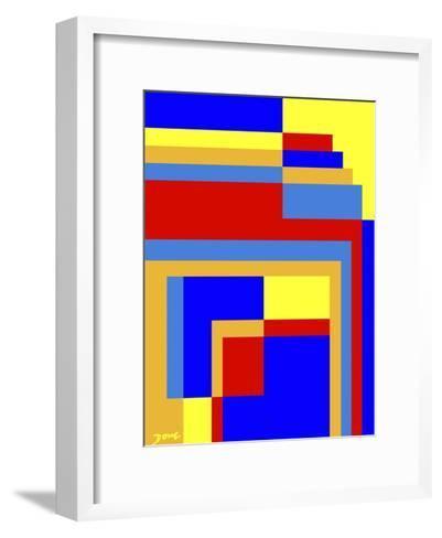 Abstract No.6-Diana Ong-Framed Art Print