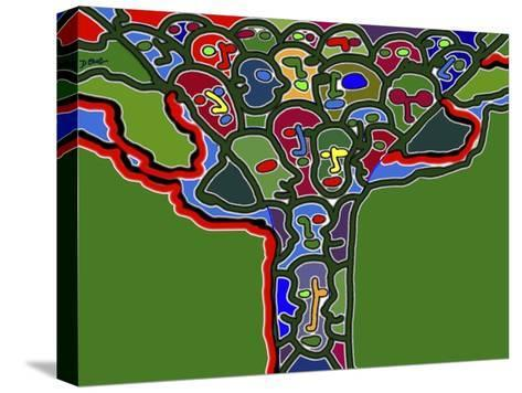 Family Tree-Diana Ong-Stretched Canvas Print