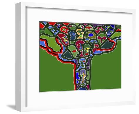 Family Tree-Diana Ong-Framed Art Print