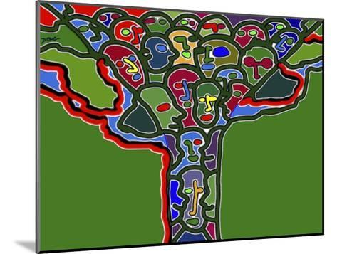 Family Tree-Diana Ong-Mounted Giclee Print