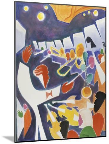 Symphony Series No.1-Gil Mayers-Mounted Giclee Print