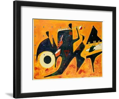 Tangerine-Gil Mayers-Framed Art Print