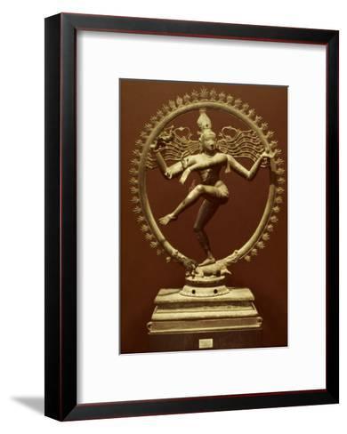 Shiva As Nataraja--Framed Art Print
