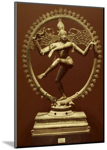 Shiva As Nataraja--Mounted Giclee Print
