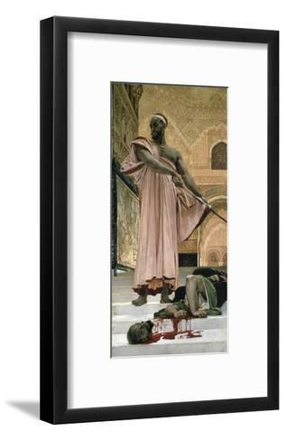 Execution Without Trial Under the Moorish Kings--Framed Art Print