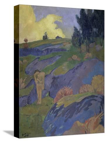 Breton Eve (Melancholy)-Paul Serusier-Stretched Canvas Print