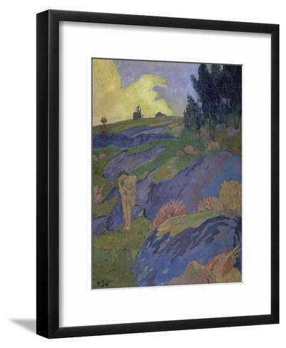 Breton Eve (Melancholy)-Paul Serusier-Framed Art Print