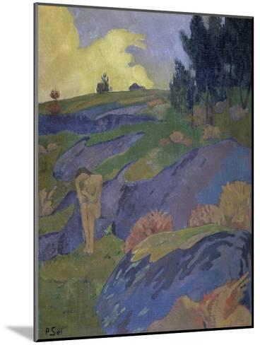 Breton Eve (Melancholy)-Paul Serusier-Mounted Giclee Print