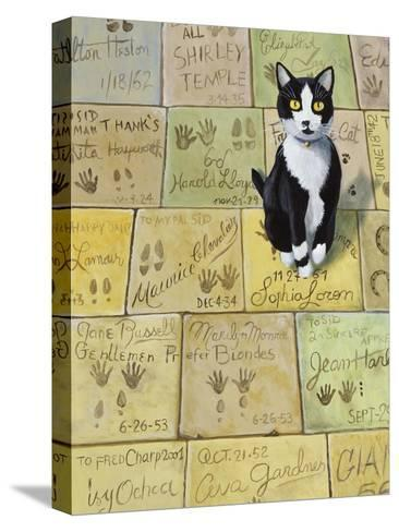 Cat in Hollywood (Chat a Hollywood)-Isy Ochoa-Stretched Canvas Print