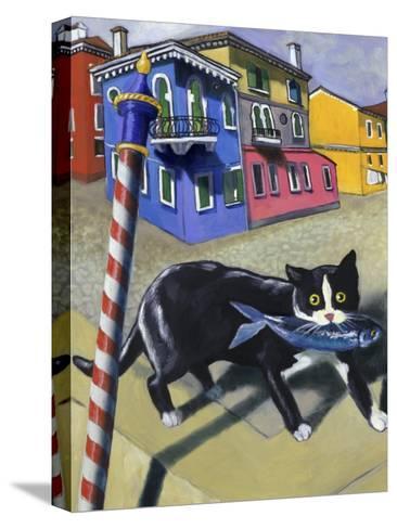 Cat of Burano (Chat de Burano)-Isy Ochoa-Stretched Canvas Print