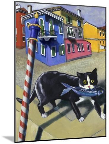 Cat of Burano (Chat de Burano)-Isy Ochoa-Mounted Giclee Print