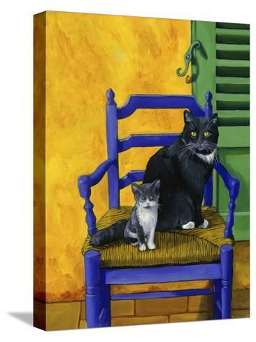 Cats of Provence (Chats de Provence)-Isy Ochoa-Stretched Canvas Print